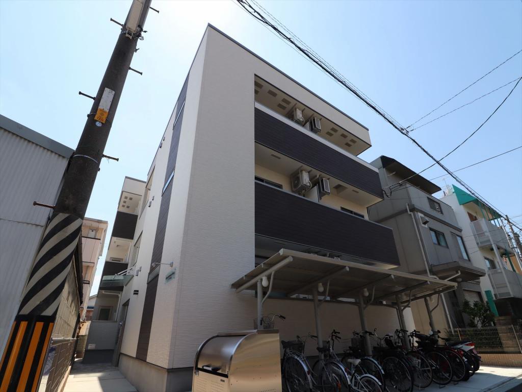 フジパレス吹田寿町Ⅲ番館 外観